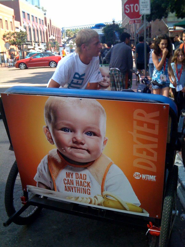 baby-peddle-cabs-comic-con-2009