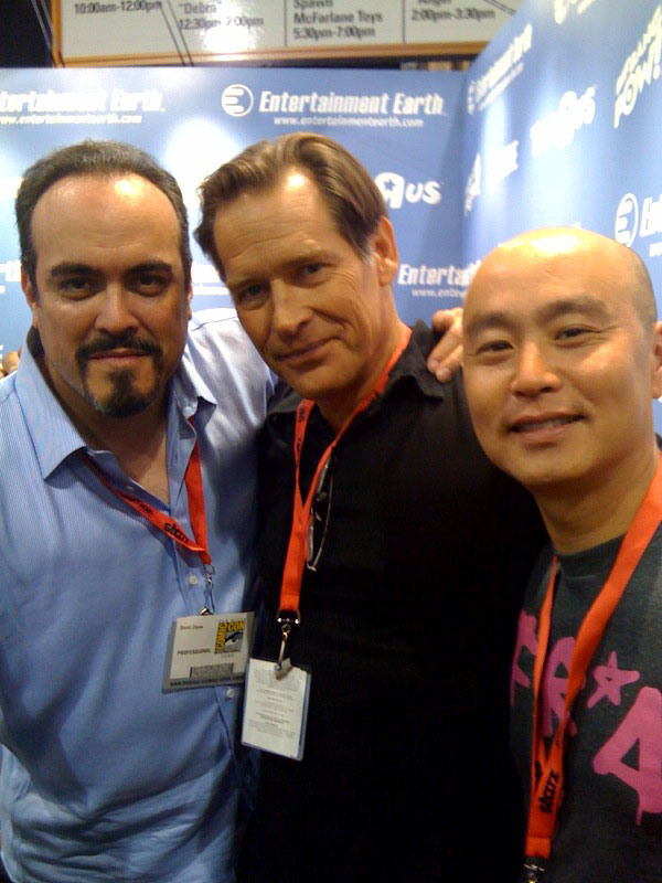 david-zayas-c-s-lee-james-remar-comic-con-2009