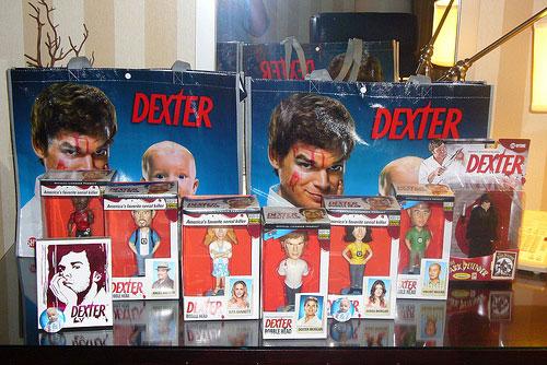dexter-merchandising comic con 2009