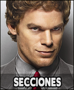 Información del mundo de Dexter dividida por secciones