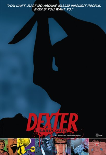 dexter early cuts poster